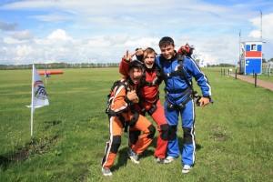 прыжки с парашютом на Аэродроме Танай
