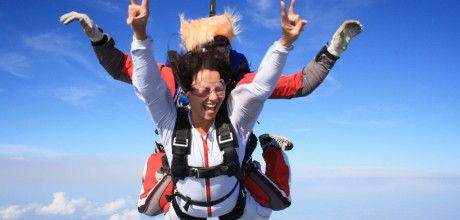 Прыжки с парашютом Новосибирск