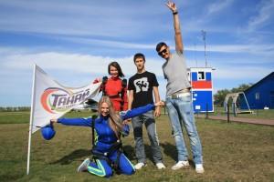 прыжки с парашютом в Кемерово
